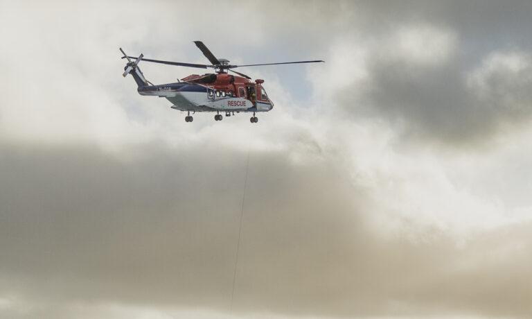 LO helikopterutvalg fornøyd med at Turøy-ulykkeshelikopter ikke skal brukes i nord