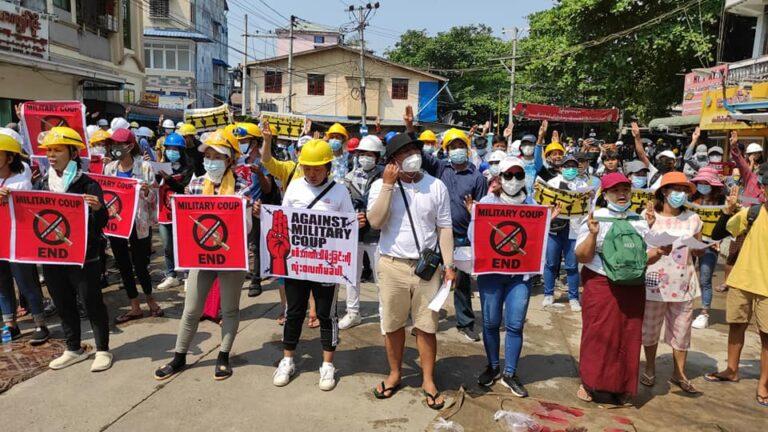 Støtter fagforeningsarbeid i Myanmar