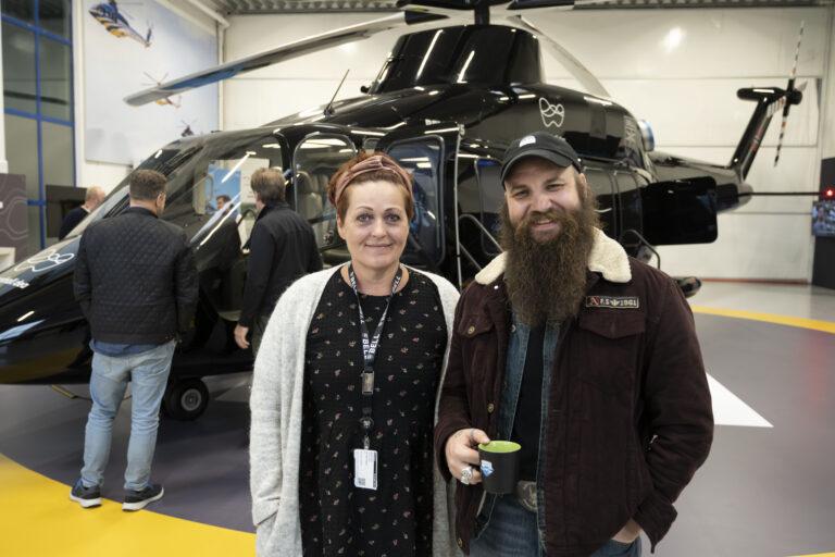 De ansatte på Brage-feltet skal bli kjent med nytt helikopter